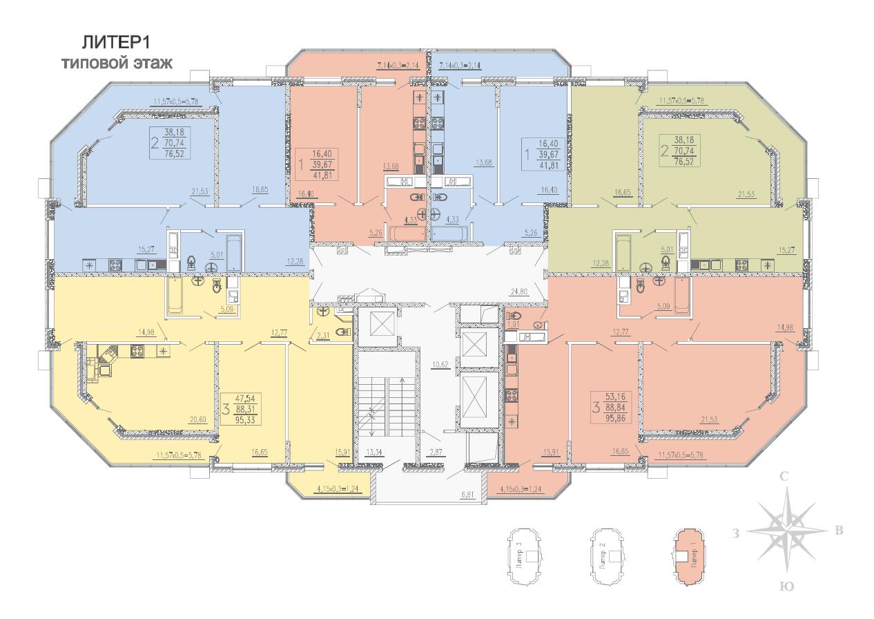 Типовой этаж
